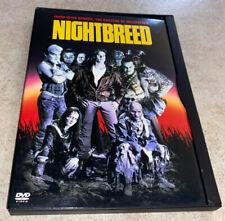 Nightbreed DVD Rare OOP Region 1 Widescreen Snapcase Clive Barker