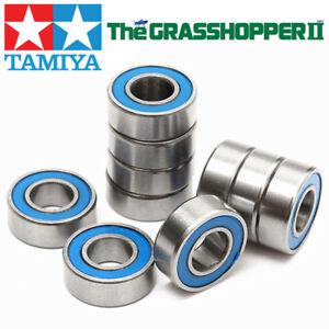 Ball Bearings Set For Tamiya Grasshopper Rc Car Rubber Sealed