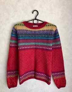 Ivko geometric abstract print sweater