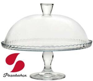 Pasabahce Patisserie Tortenplatte mit Haube 32 cm 95200