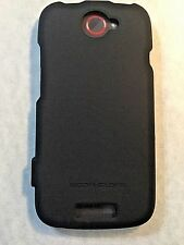 HTC ONE S Black Body Glove Smooth Case for T-Mobile Ultra Thin Soft Touch