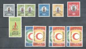 (875396) Red Cross, Royalty, Small lot, Miscellaneous, Qatar