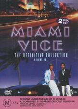MIAMI VICE. The Definitive Collection, Volume 1, 2 Disc Set. Cars, Girls, Music.