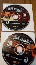 "STAR WARS ""Jedi Knight Dark forces 2"" Vintage PC Game - 2 CD DISCS ONLY"