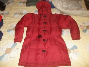 RARE New Slope Coat Vintage USA Made Gerry Goose Down Trench Coat Parka Jacket