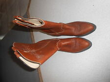 Double H Women's Ladies Western Boots Shoes Size 7 M Brown HH