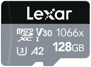 Lexar 128GB 1066x High Speed Micro SD Card 160MB/s