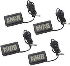 New listing Lcd Digital Thermometer 4 Pcs Fahrenheit Temperature Monitor With Probe For Frid
