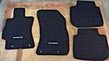 2010-2014 Subaru Legacy Outback Authentic Factory Mats Front & Rear 4 Mats Black