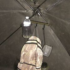 Hub-Style Ground Blind Accessory/Drink Holder Deer Turkey Hunting-GBAH2-FAST S&H