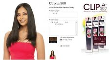 """Sensual Collection 100% Human Hair Weave 18"""" - Clip In 360"""