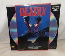 Deadly Dreams on Laserdisc. VG Condition. Rare Horror Film.
