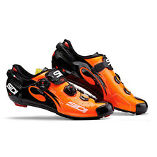 SIDI Wire Carbon Road Cycling Shoes - Orange/Black [Size: 38~46 EUR]