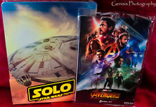 Solo: A Star Wars Story Steelbook (Blu-ray 3D + Blu-ray + Bonus) + Art Cards*