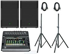 Mackie SRM550 & DL806 complete band Pa System digital mixer active speakers NEW