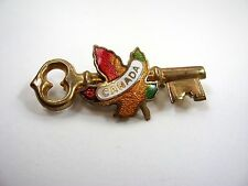 Vintage Collectible Pin: Canada Key Design