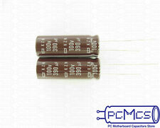 15 Nippon ChemiCon NCC PAG Series 400V 10UF low profile power supply Capacitor