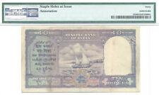 British India 10 Rupees King George VI Pick 24 (1943) PMG 30