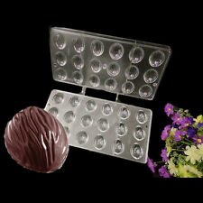 DIY 2 In 1 Walnut Shape Polycarbonate PC Clear Hard Plastic Chocolate Mould Mold