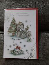 Tatty teddy me to you bear Husband Christmas Card BNIP - Christmas tree