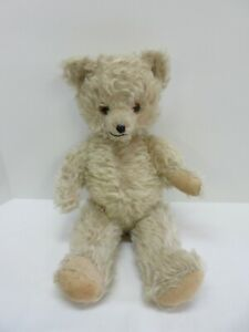 """OLD Vintage Antique Chad Valley English Jointed Mohair 18"""" inch Teddy Bear"""