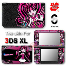 Monster High Draculaura VINYL SKIN STICKER DECAL COVER #3 for Nintendo 3DS XL