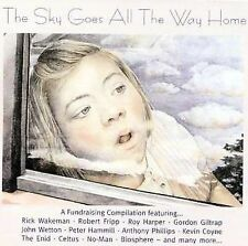 VARIOUS ARTISTS - THE SKY GOES ALL THE WAY HOME USED - VERY GOOD CD