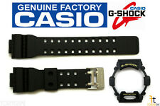 Casio G-Shock G-8900-1  Genuine Factory Black Rubber Watch Band & Bezel Combo
