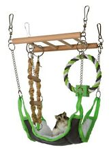 HANGING CAGE ACTIVITY PLAY CENTRE HAMSTER MICE WITH LADDER HAMMOCK SWING 6298