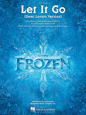 Let It Go from Frozen Sheet Music Easy Piano Demi Lovato NEW 000128178