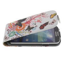 Sac pour Samsung Galaxy S4 Style rabattant papillon croix papillon etui coque