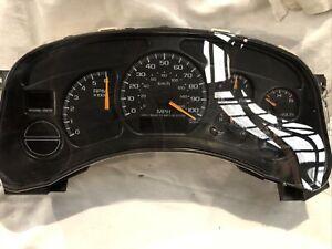 2000 Chevy Silverado 1500 Pickup SPEEDOMETER 186k Mile
