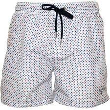 Gant Polka Drop Print Men's Swim Shorts, White/multi