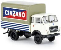 Brekina 34634 OM Lupetto 'Cinzano'  scala H0 1/87