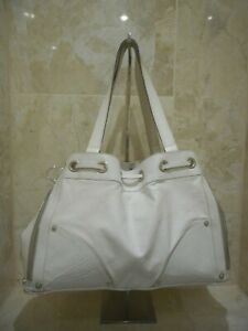 Mulberry Poppy Tote White Leather Shoulder Bag RRP £850