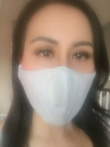 Face mask - unisex - 100% Cotton with filter pocket