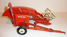 TRU-SCALE - CARTER Tin 1950s-60s COMBINE FARM TOY #406 ~ 12.5-inch long