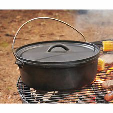 Pre-Seasoned Cast Iron 4-Quart Dutch Oven with Lid
