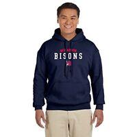 Soft As A Grape Buffalo Bisons Adult MLiB Hooded Sweatshirt, Navy