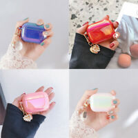 For AirPods Pro 1 2 Luxury Glitter Cute Case Cover With Pendant Accessories