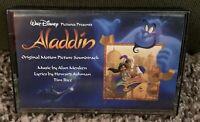CASSETTE - ALADDIN Original Motion Picture Soundtrack] BMG, 1992. DISNEY, HTF