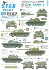 Star Decals 1/35 Croatian Tanks In The Homeland Part 2 T-55 1992-1993