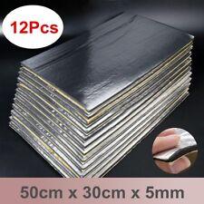 12Pcs 14''x20'' 5mm Sound Deadener Car Heat Shield Insulation Deadening Mat