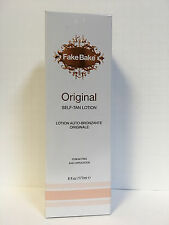 FAKE BAKE ORIGINAL SUNLESS SELF TAN TANNING LOTION - 6oz SEALED IN BOX