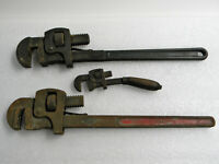 Antique Vintage Pipe Wrench Lot