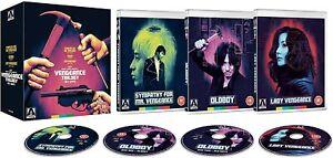 Vengeance Trilogy Blu Ray 4 Disc Box Set Arrow UK Region B New/Sealed