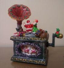 Mr. Christmas Animated Holiday Phonograph Music Box.