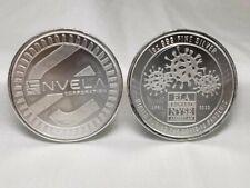 C0vid Pandemic Envela 999 Silver 1 Oz Bullion Sigma Tested w/Plastic Case Includ