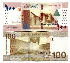 SUDAN 100 POUNDS 2019 P-NEW UNC