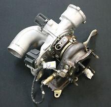 Audi A4 8K 2,0 TFSI Turbocompressore Turbo Caricatore Abgsaturbolader Collettore